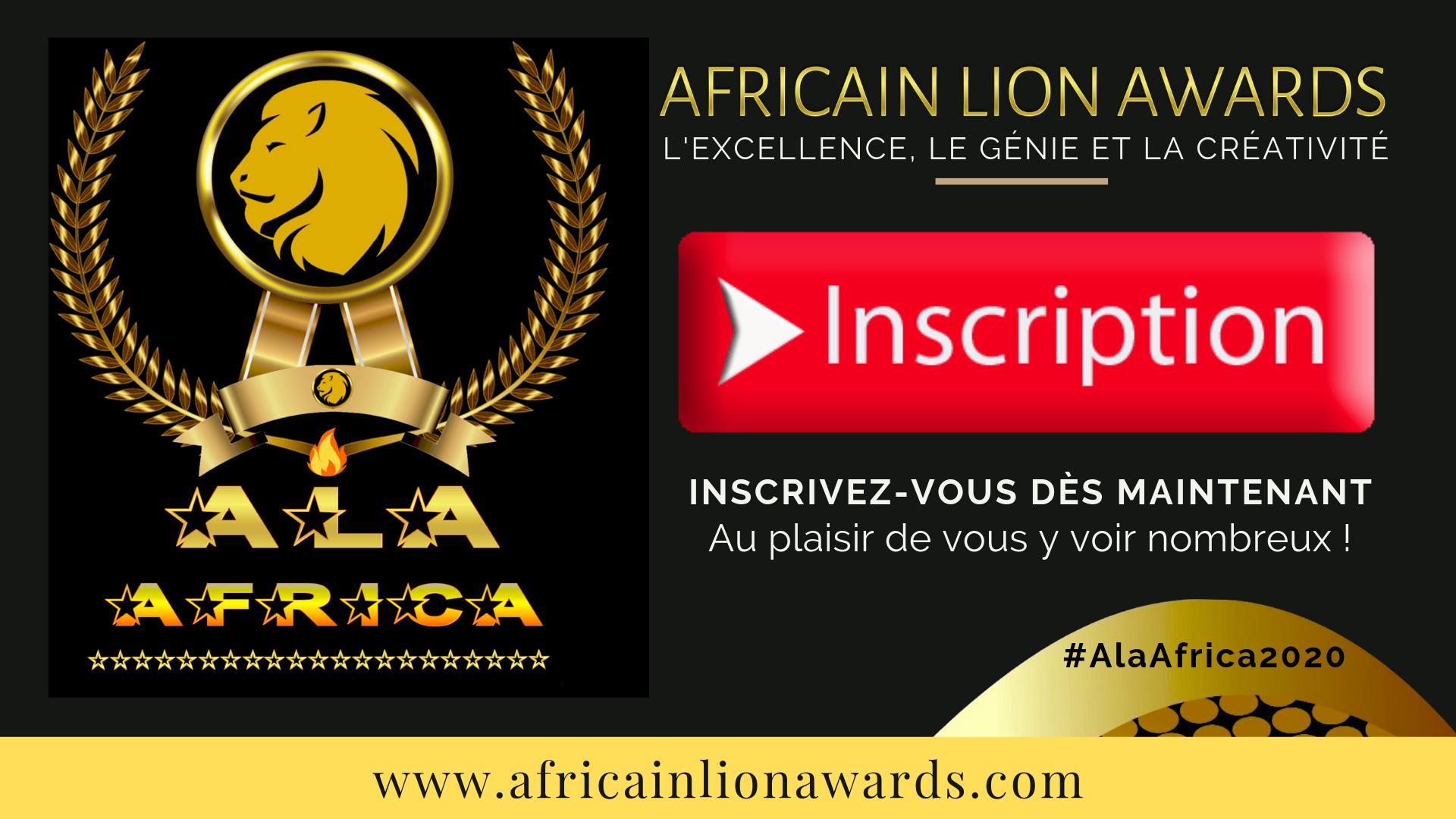 """Inscrivez-vous dès maintenant pour """"ALA AFRICA"""" Édition 2020."""